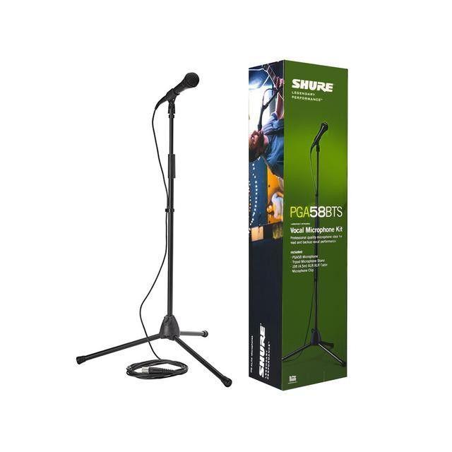 SHURE PGA58BTS Kit microfono con cavo e asta