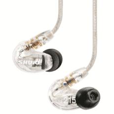 SHURE SE215 Auricolari Sound Isolating Trasparenti con cavo universale 3