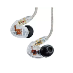shure se425 clear auricolari ad isolamento sonoro trasparenti