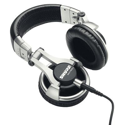 SHURE SRH750DJ CUFFIA PROFESSIONALE PER DJ