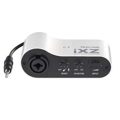 tascam ixz interfaccia audio