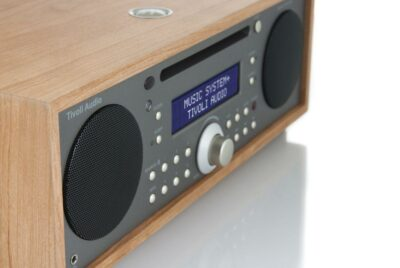 TIVOLI AUDIO MUSIC SYSTEM PLUS CHERRY/TAUPE