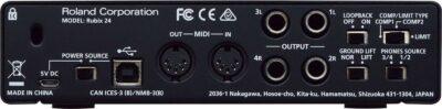 Roland Rubix24 Interfaccia Audio USB