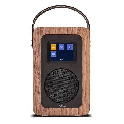 RLINE PLAY R2 RADIO DIGITALE BLUETOOTH WALNUT MADEIRA 1