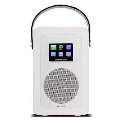 R-LINE PLAY R1 RADIO DIGITALE PORTATILE WHITE 1