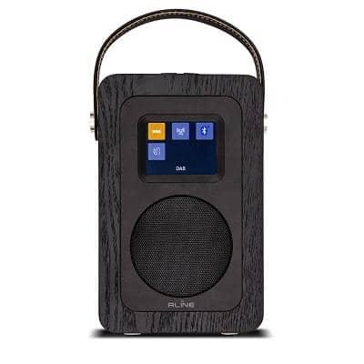 R-LINE PLAY R2 RADIO DIGITALE BLUETOOTH BLACK HELSINKI 1