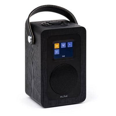 R-LINE PLAY R2 RADIO DIGITALE BLUETOOTH BLACK HELSINKI