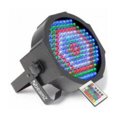 FLATPAR 154X 10MM RGBW LEDS IR DMX