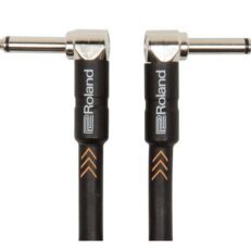 """Roland Instrument Cable Angled/Angled 1/4"""" jack 1m"""