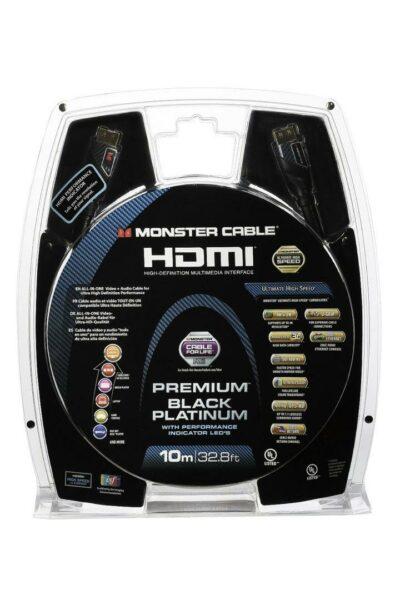 Monster Cable HDMI Black Platinum PI 1,5m