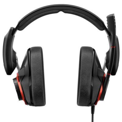 Sennheiser GSP 600 Cuffia da gaming professionale nero rosso 1
