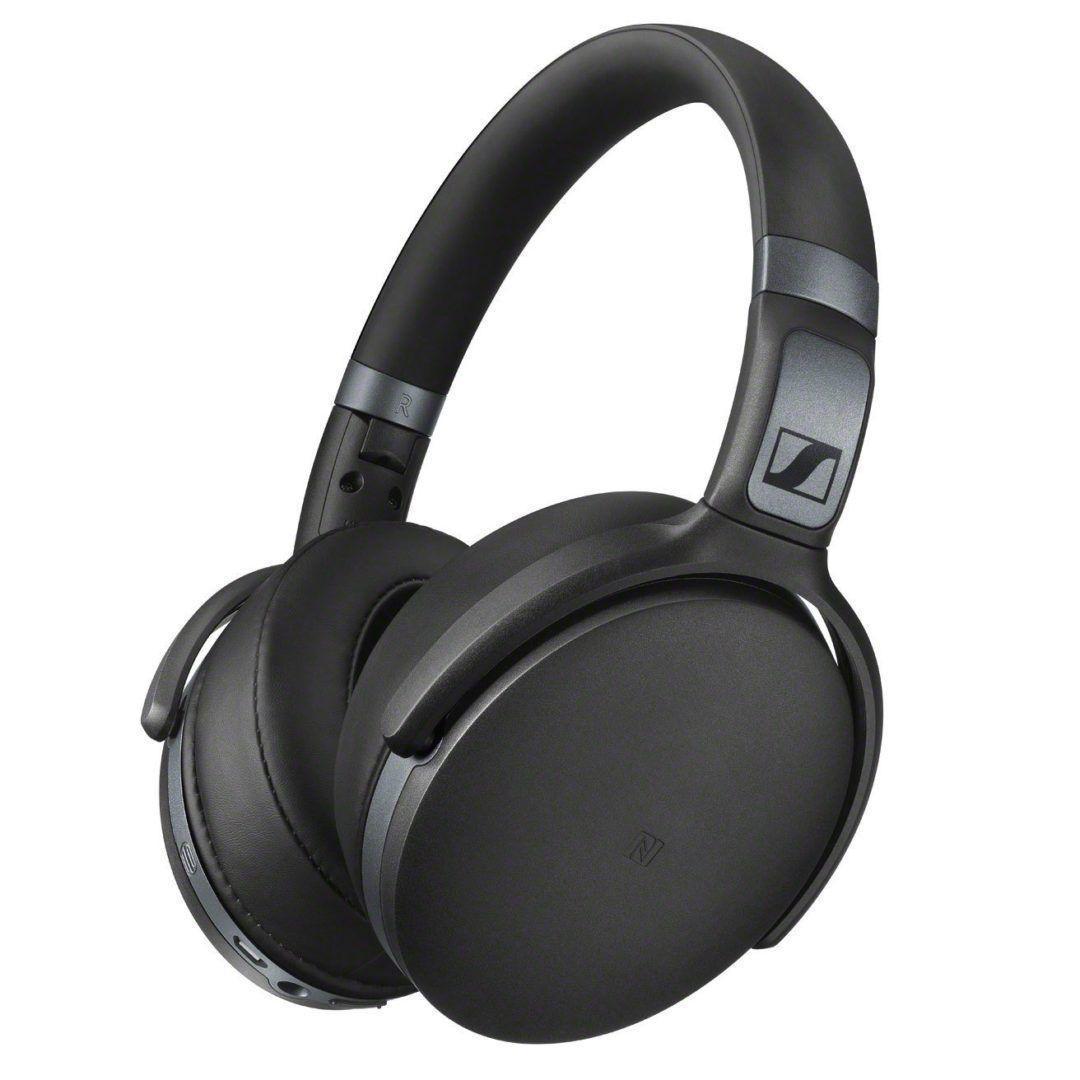 Sennheiser HD 4.40 Cuffie Wireless Bluetooth Nero Opaco