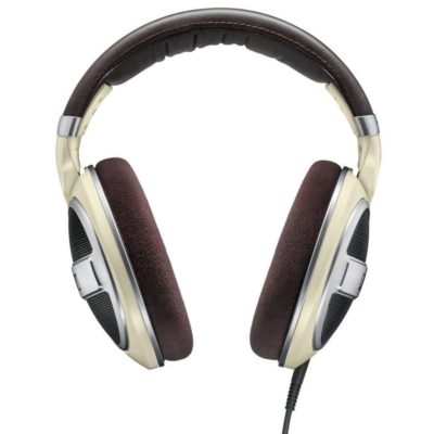 Sennheiser HD 599 Cuffia Over-ear aperta sul retro Avorio 2