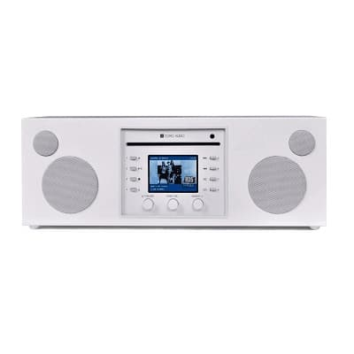 Como Audio Musica Sistema stereo all-in-one bianco 1