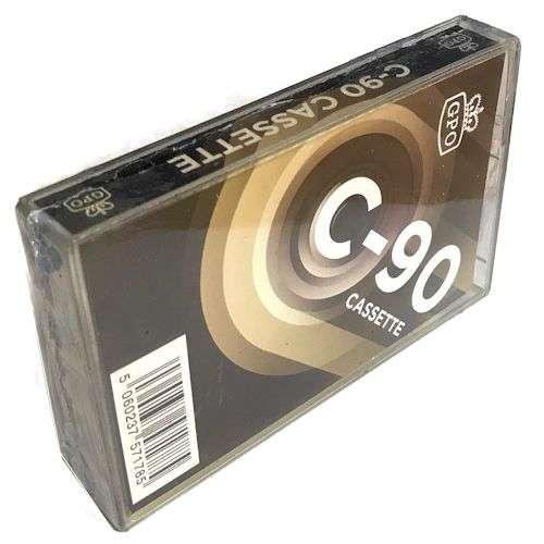 GPO C90 Audio cassetta vergine