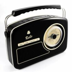 Gpo Rydell DAB Radio Nero