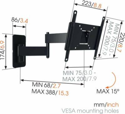 Vogel's MA 2040 Staffa TV Girevole