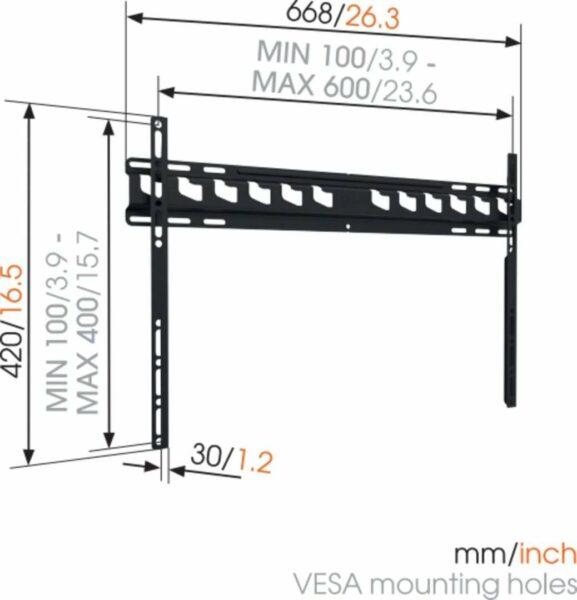 Vogel's MA 4000 Staffa TV Fisso