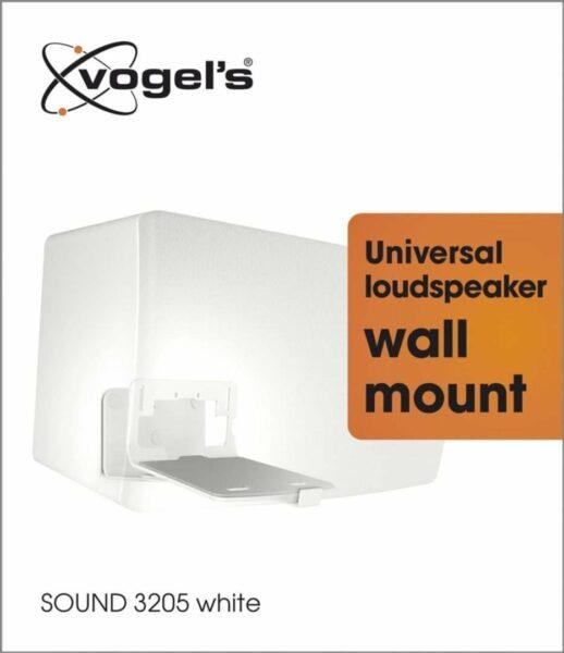Vogel's SOUND 3205 Staffa per casse acustiche Nero