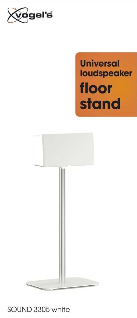 Vogel's SOUND 3305 Stand per casse acustiche Bianco