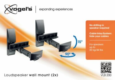 Vogel's VLB 200 Coppia di staffe per casse acustiche
