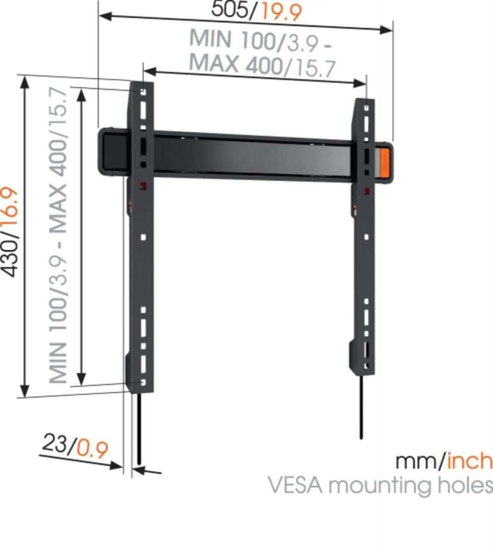 Vogel's WALL 3205 Staffa TV Fisso