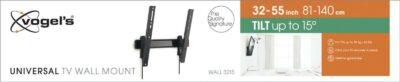 Vogel's WALL 3215 Staffa TV Inclinabile