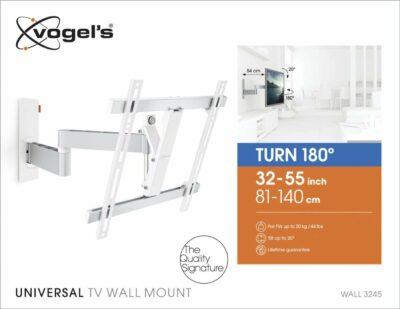 Vogel's WALL 3245 Staffa TV Girevole Bianco