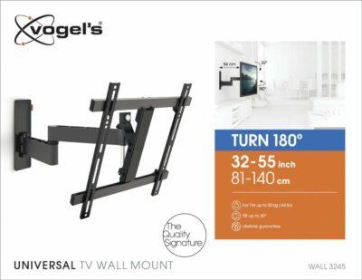 Vogel's WALL 3245 Staffa TV Girevole Nero