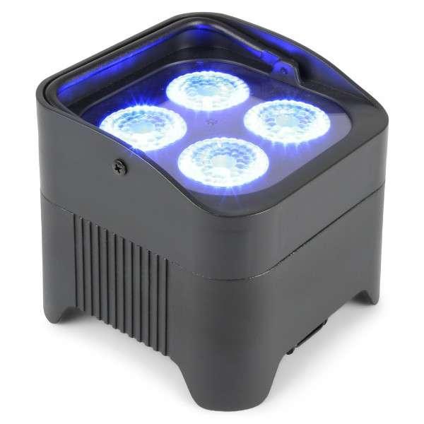 BeamZ BBP94 Uplight batteria Par 4x 10W