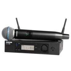 Shure GLXD24R mic BETA58A