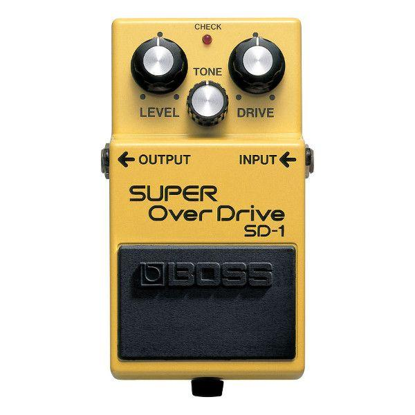 BOSS SD1 Overdrive a pedale
