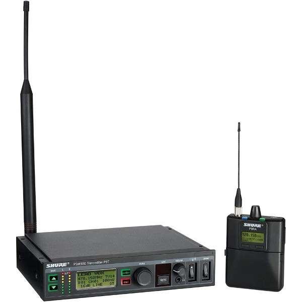 Shure P9TERA Ricevitore e Trasmettitore Banda 596-626 MHz