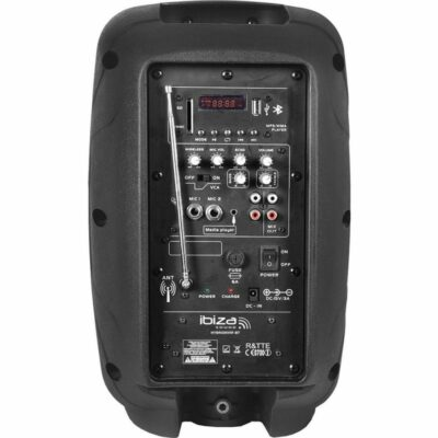 IBIZA HYBRID 8 VHF-BT SISTEMA PORTATILE AMPLIFICATO BLUETOOTH 1