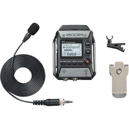 Zoom F1-LP - registratore portatile + microfono lavalier OUTLET