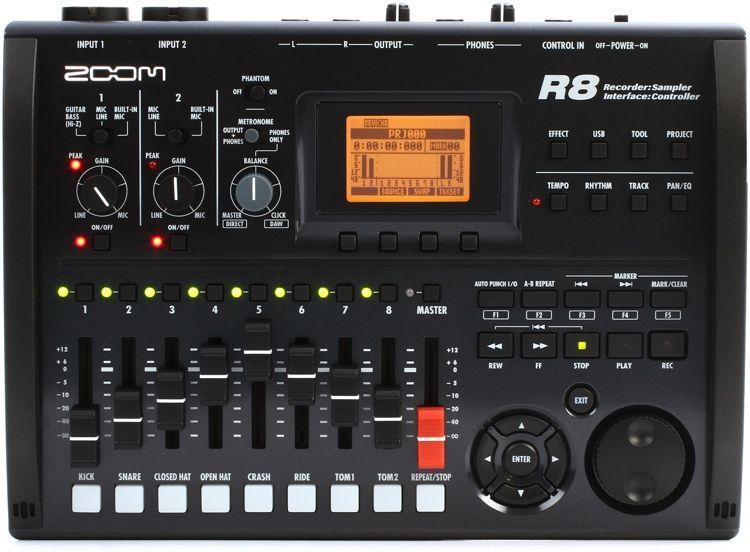 Zoom R8 - registratore digitale multitraccia