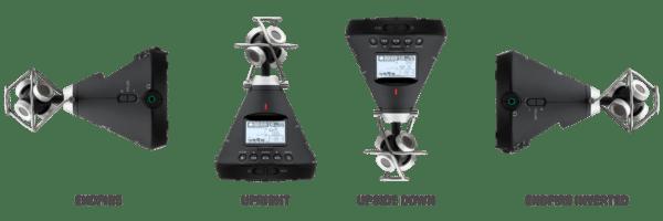 Zoom H3-VR - registratore VR con tecnologia Ambisonic