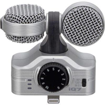 Zoom iQ7 - microfono stereo mid/side per iPhone/iPod/iPad