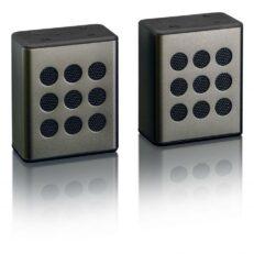 Lenco BTP-200 Coppia diffusori bluetooth Nero