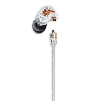 Shure SE425 Auricolari professionali Sound Isolating trasparenti con cavo universale 1