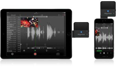 IK Multimedia iRig Mic Field Microfono compatto per iOS
