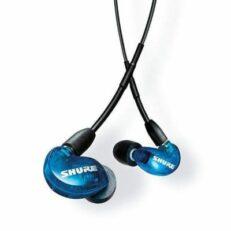 Shure SE215 Auricolari Sound Isolating Special Edition Blu con cavo universale