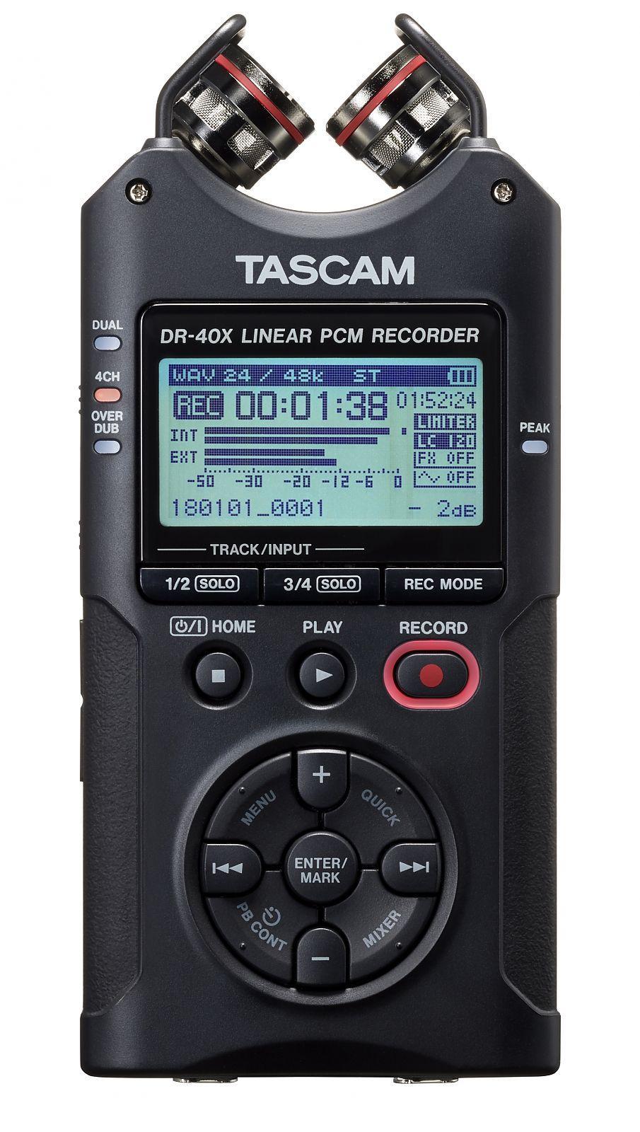 Registratore audio portatile Tascam DR-07X