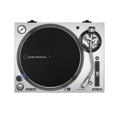 Audio-Technica AT-LP140XPBK Giradischi manuale professionale Direct Drive Black