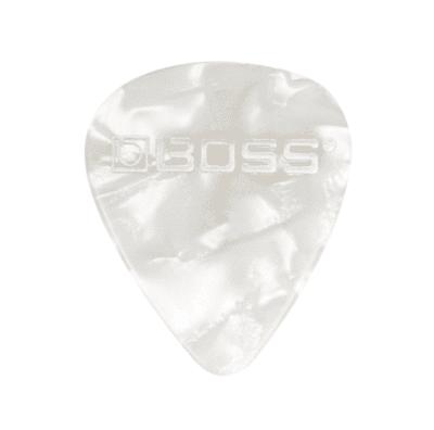 Boss BPK-12-WH Set plettro Heavy White Pearl