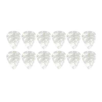 Boss BPK-12-WH Set plettro Thin White Pearl