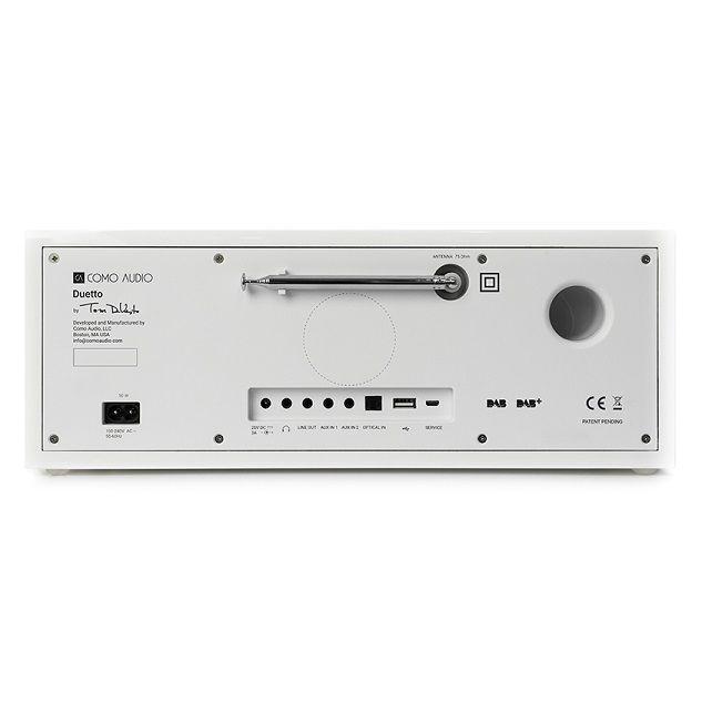 Como Audio DUETTO Smart Radio Multiroom White