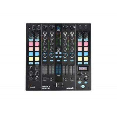 Mixars Mixer Quattro 4 canali con Serato DJ Black