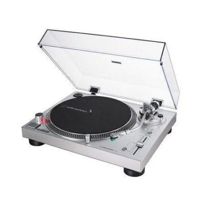 Audio-Technica AT-LP120X Giradischi manuale Direct Drive Argento