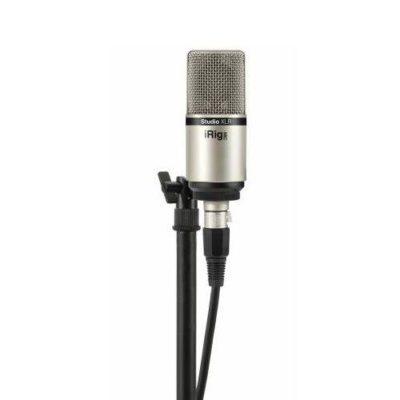 IK Multimedia iRig Mic Studio XLR Microfono a condensatore da studio a diaframma largo con connessione XLR
